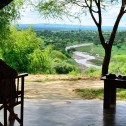 Tarangire lodge tent view