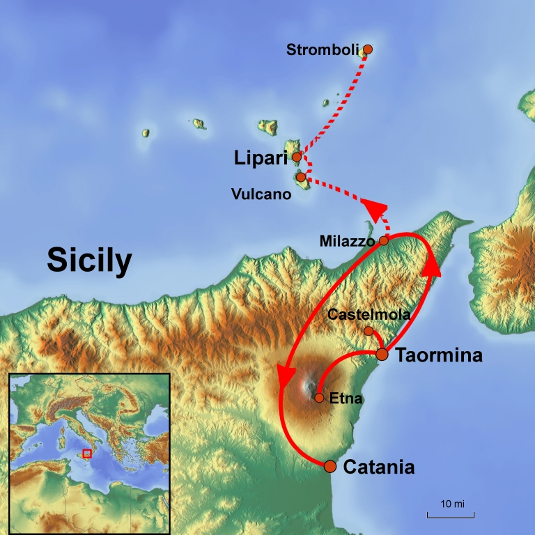 Sicily and the Aeolian Islands Go Get Lost